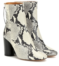 Garrett leather ankle boots