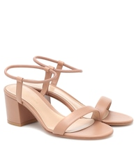 Nikki 60 leather sandals