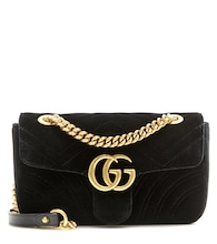 GG Marmont Mini velvet shoulder bag