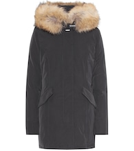 Luxury Arctic down coat