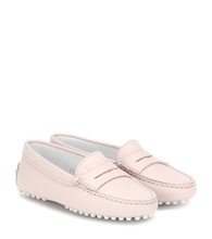 Junior Gommino leather loafers