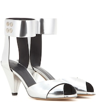 Meegan metallic leather sandals