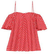 Dotted cotton top