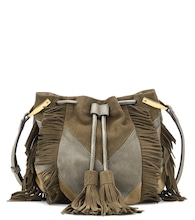 Kylio suede bucket bag