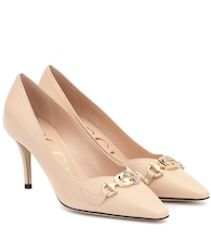 Gucci Zumi leather pumps