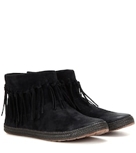 Shenendoah suede ankle boots