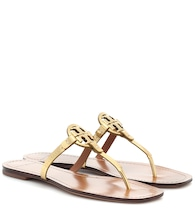 Mini Miller leather sandals