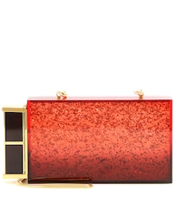 Lipstick box clutch