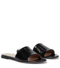 Capri flat leather sandals