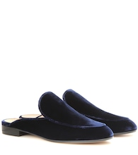 Exclusive to mytheresa.com – Palau velvet slippers