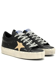 Hi Star leather sneakers