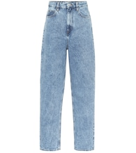 Corsy high-rise straight jeans