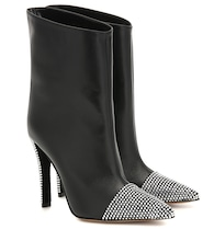 Christie leather ankle boots