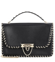 Valentino Garavani Demilune Small leather shoulder bag