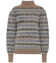 Ned intarsia wool sweater