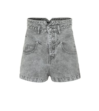 Exclusive to Mytheresa – Aloa high-rise denim shorts