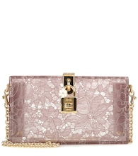 Monica embellished clutch