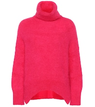 Valentino mohair-blend turtleneck sweater