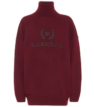 Logo turtleneck sweater