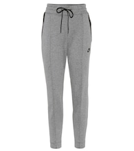 Tech Fleece Knit cotton-blend sweatpants