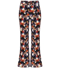 Austin floral cotton pants