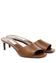 Marion leather sandals