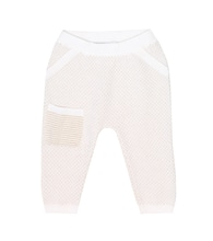 Baby Toy cashmere trackpants