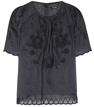 Araza embroidered top