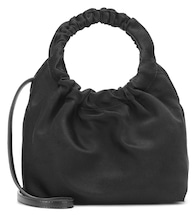 Double Circle Small satin tote