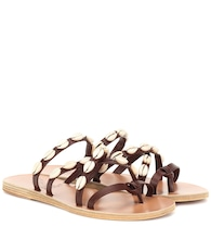 Exclusive to Mytheresa – Hydra leather sandals