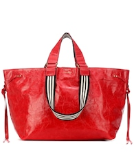 Wardy leather shopper
