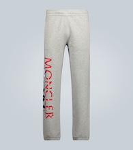 2 MONCLER 1952 & AWAKE NY logo cotton sweatpants