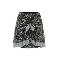 Cole sequined miniskirt