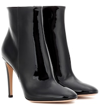 Dree patent leather ankle boots