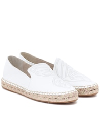 Espadrillas Butterfly in pelle
