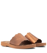 Essie leather sandals