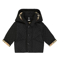 Baby Monogram quilted coat