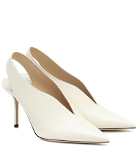 Saise 85 slingback leather pumps