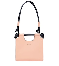 Marcel Knot Small leather tote