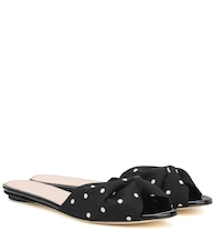 Mia 5mm polka-dotted sandals