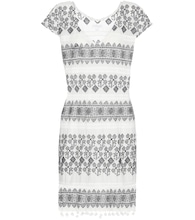 Yandel embroidered cotton dress