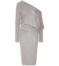 Cashmere and silk dress