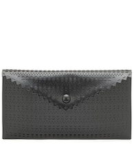 Louise leather clutch