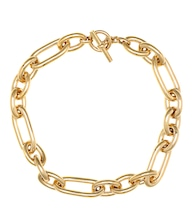 18kt gold-plated necklace