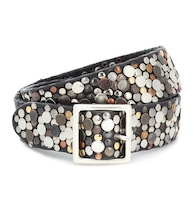 Exclusive to Mytheresa – Studded leather belt