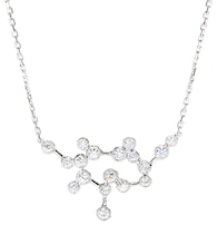 Love Is In The Air 18kt white gold necklace with diamonds