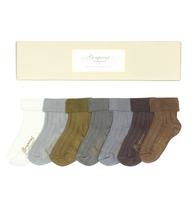 Cotton-blend sock set