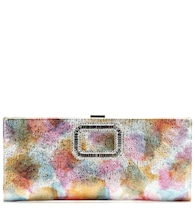 Pilgrim Small embellished leather clutch