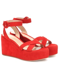 Billie suede platform sandals