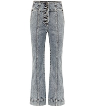 Ellis high-rise cropped bootcut jeans